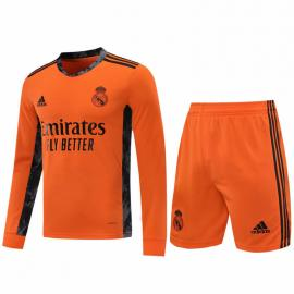 Camiseta 20/21 Portero Naranja Manga Larga Real Madrid