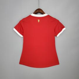 Camiseta Manchester United Primera Equipación 2021/2022 Mujer