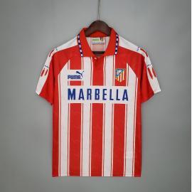 Camiseta Retro Atletico Madrid Primera Equipación 94/95