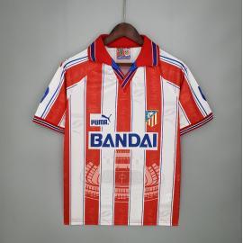 Camiseta Retro Atletico Madrid Primera Equipación 96/97