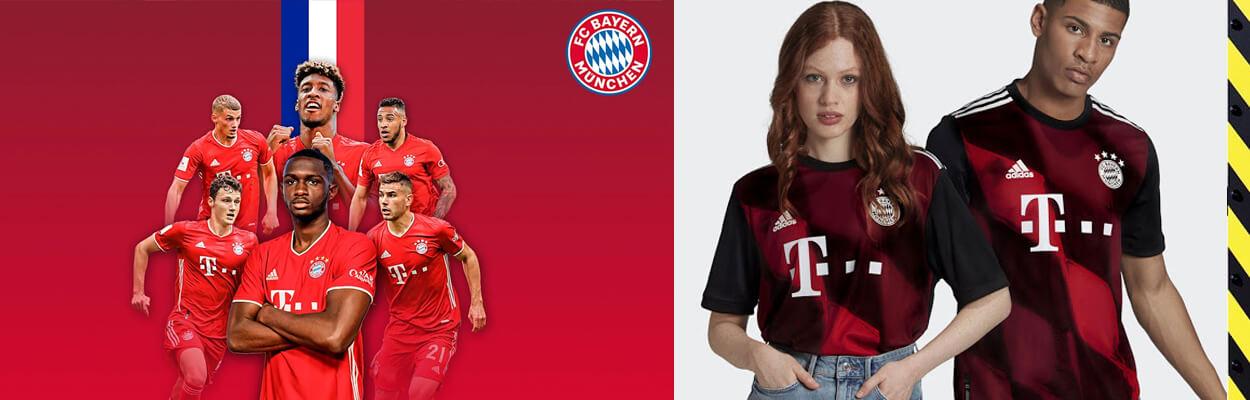 camiseta del Bayern Munich 2020-2021