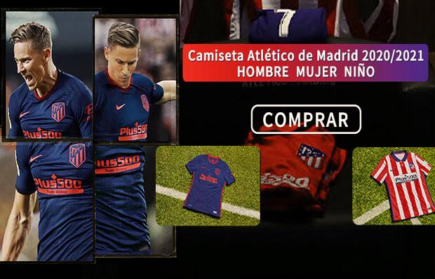 camiseta del Atletico Madrid 2019 2020 Home Kit